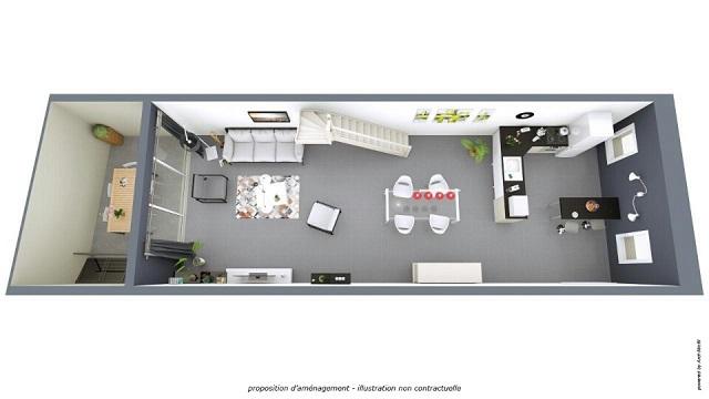 maison r nov e loft. Black Bedroom Furniture Sets. Home Design Ideas