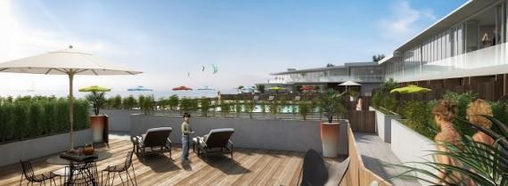 Appartements neufs uniques à Royan, avec Piscine Privée.Bureau de vente sur place , ouvert à partir du 1 oct 2018,du vendredi au lundi inclus.