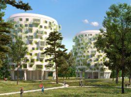 Parc de Fontbelleau, Appartements neufs en plein air à Lormont